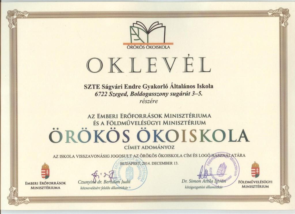 oklevel_orokos_okoiskola